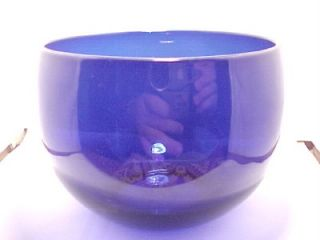 Georgian Antique Bristol Blue Finger Rinser Bowl