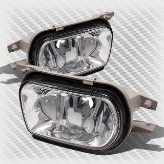 01 06 Mercedes Benz W203 C Class 01 04 SLK Bumper Fog Lights Lamp Pair