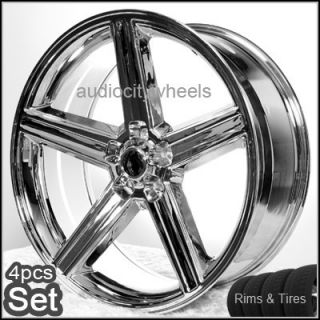 20 IROC Wheels Tires 5LUG Elcamino Camaro Rims Chevy