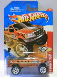 Hot Wheels 2012 206 Thrill Racers Ford F 150 New Mint on Card