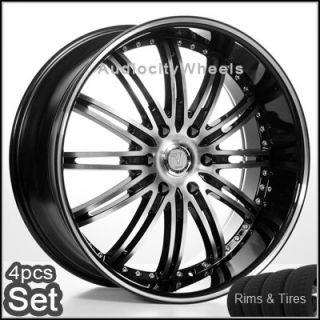 22x8 5 Wheels Tires Altima Montecalo Lexus Rims
