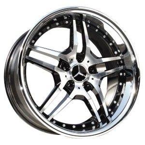 19 Euromag EM2 Wheels Rims Mercedes Benz C219 C218 CLS500 CLS550 R230