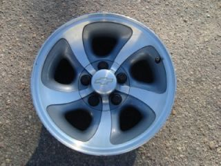 Chevy s 10 Blazer Factory 15 Aluminum Wheels