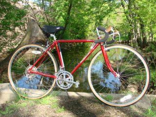 Nishiki Olympic 12 Speed Red Road Bike Book Bicycle 27