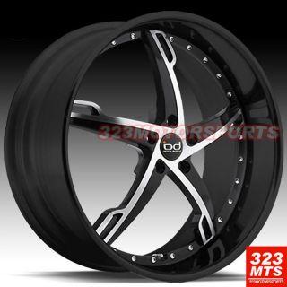 20 Wheels Blaque Diamond BD5 Rims BMW 5 6 7