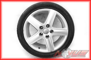 17 AUDI A4 A5 A6 ALLOY OEM RIMS WHEELS TIRES OEM 16 18