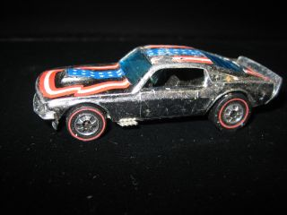 Redline Hot Wheels Chrome Mustang Stocker Stars Redliner Car Hotwheels