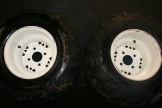 Polaris Trailblazer 250 Rear Wheels Tires Stock