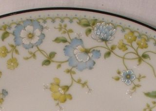 Noritake China Flourish 2608 Pattern Dinner Plate