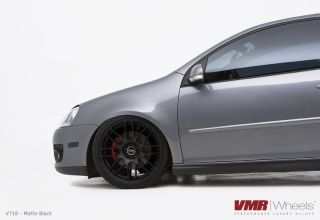 19x8 5 VMR 718 Matte Black Wheel 5x112 Fit Audi A3 TT VW Golf GTI