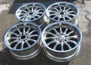 Boss Motorsport 20 Chrome Wheels Rims Set Yukon XL LKQ
