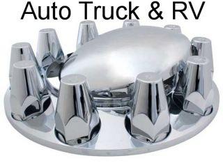 Wheel Nut Cover Hub Axle 10 Lug 33 mm Semi Truck Rim Dress Up