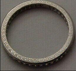Platinum and Diamond Eternity Rings 2505 3