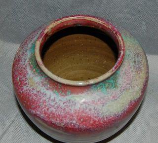 American Art Pottery Jugtown Chinese Blue Vase Ben Owen