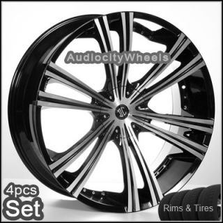 24inch Wheels and Tires Chevy Ford Escalade Tahoe Rims