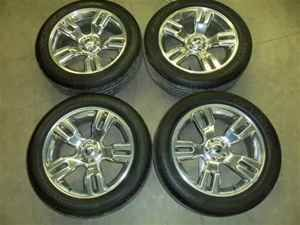 08 2010 Mercury Mountaineer 20 Wheels Rim w Tires Set 4
