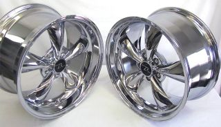 ® Bullitt Wheels 18x9 18x10 inch 2005 2012 18 Rims Chrome