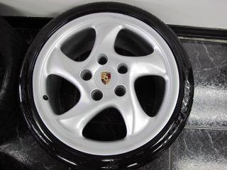 Set of 2000 Porsche Carrera 911 Wheels with Tires