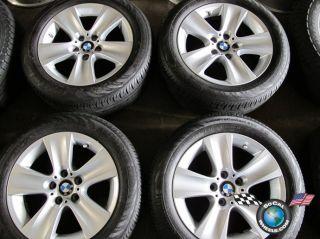 528 535 550 Factory 17 Wheels Tires Rims OEM 225/55/17 Continental RFT