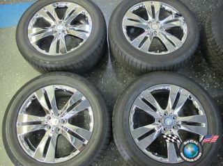 12 Mercedes MBZ GL GL450 ML R Factory 20 Wheels Tires Rims OEM 85106