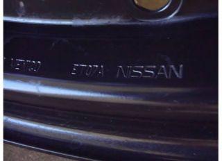 16 Nissan SENTRA 2.0 S Wheel Rim STEEL OEM 2.0S 07 13 08 09 10 11 12