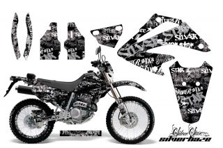 AMR Racing Honda XR250 SM Graphic Kit Sticker Dekor Number Plate