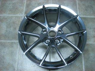 2010 Corvette 18 Z06 ZO6 Chrome Rim Wheel OEM G.M Factory Speedline