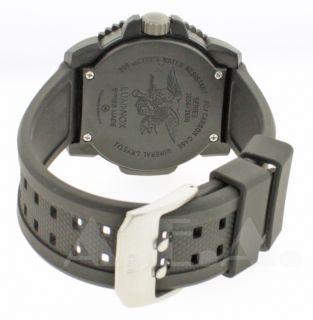 Luminox GGL L 3051 Mens Black Rubber Strap Designer Watch