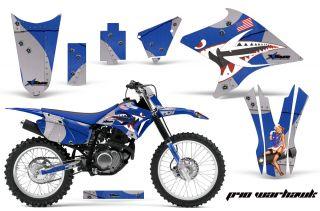 OFF ROAD MOTOCROSS NUMBER PLATE WRAP MX KIT YAMAHA TTR 230 05 12 PWU