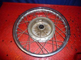 Yamaha RD 250 350 RD350 Rear Wheel Spokes Rim