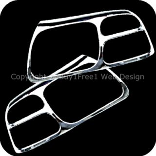 Escudo Chrome Head Light Trim Front Lamp Rim Cover Overlays