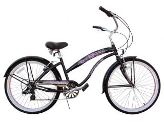 New 26 7 Speed Beach Cruiser Bicycle Bike BC 706L