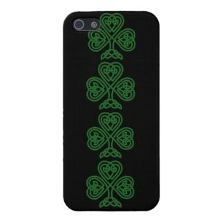 Celtic Shamrock Design iPhone Casemate iPhone 5 Cases