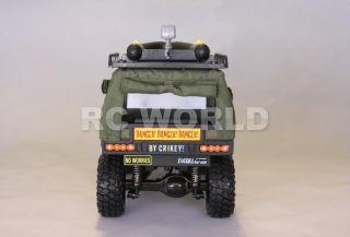 RC 1 10 Tamiya Truck Steve Irwin Crocodile Hunter Custom Truck RTR New