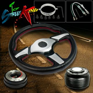 320mm Iron Man Racing Steering Wheel Hub Slim Quick Release DSM 1g 2G