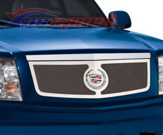 02 06 Cadillac Escalade Stainless Steel Mesh Grille Grill Insert