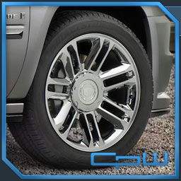 Cadillac Escalade 22 Rims and Tires Package New Avalanche Sierra