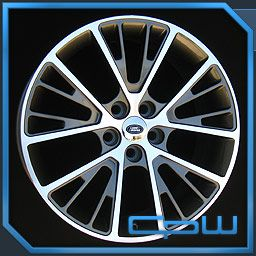 Gunmetal Autobiography Wheels Rims Fits Land Rover Range Rover