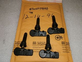 SET OF 4 FOUR DODGE RAM CHARGER CHALLENGER 300C JEEP TPMS TIRE