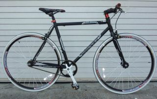 Fixie Fixed Gear Racing Bicycle Bike RD 269 48cm Matt Black