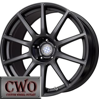 18 Black Beyern Bavaria Wheels Rims 5x120 5 Lug BMW 5 6 7 8 Series s