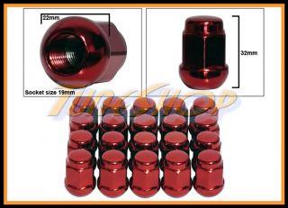 20 Honda Ball Radius Stock Wheels Lug Nuts 12x1 5 M12 1 5 Closed End