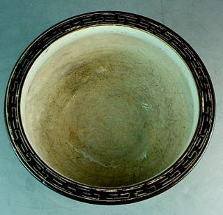 Japanese Edo Arita Sometsuke KO Imari Porcelain Bowl