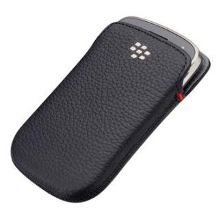 Original BlackBerry Bold 9900 9930 Pocket Pouch Case Sleeve   Black