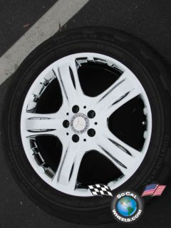 One 06 09 Mercedes ML350 R320 ML500 Factory 19 Wheel Tire Rim 65369
