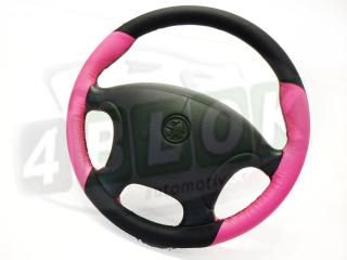 Custom Leather Steering Wheel Holden VT VX Vu WH Pink