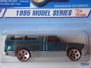 Hot Wheels 95 Model Series Dodge RAM 1500 Truck 5H RARE