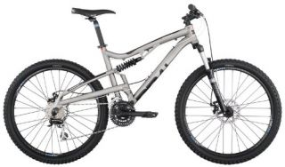 Diamondback 2012 Recoil Full Suspension Mountain Bike Titanium 18 inch