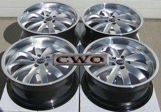 18 Silver adr Propulsion Wheels Rims 5x4 75 5 Lug Camaro Firebird s