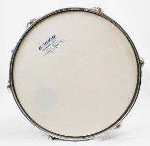 Vintage 1970s Ludwig Rack Tom Tom Drum Sky Blue 12x8 Blue Olive